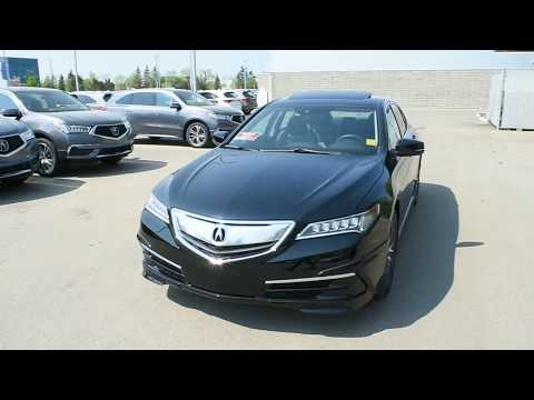2015 Acura TLX SH-AWD Technology Walk Around Review | West Side Acura in Edmonton Alberta