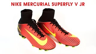Обзор бутс Nike Mercurial Superfly V JR от Trendsport.ru