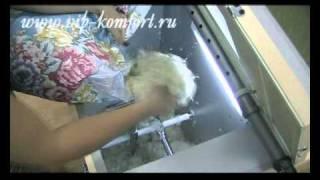 «VITA box» - оборудование для изготовления одеял и перин!(«VITA box» - уникальное оборудование, являющееся настоящей находкой для реставраторов, желающих расширить..., 2011-01-21T16:13:36.000Z)