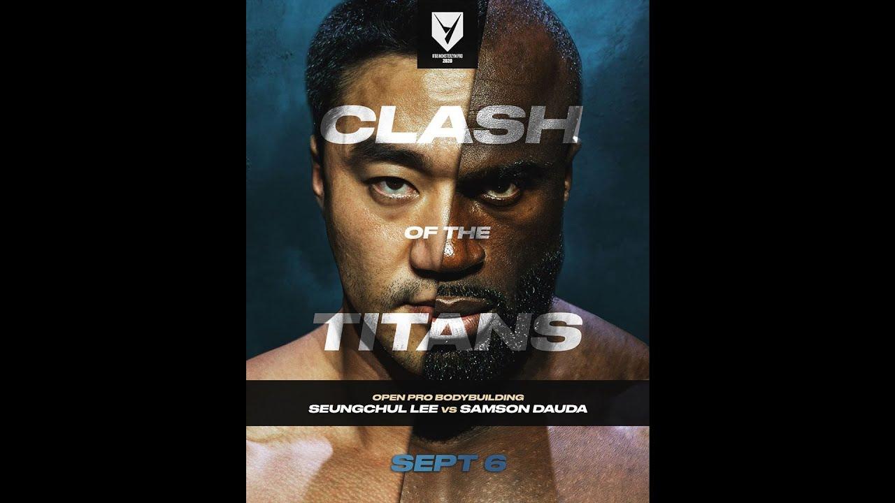 2020 IFBB Monsterzym Pro, Bodybuilding Open Comparison
