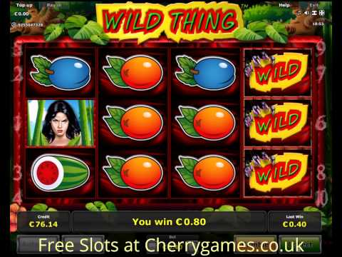Wild Thing Slot - Play Novomatic Games for Fun Online