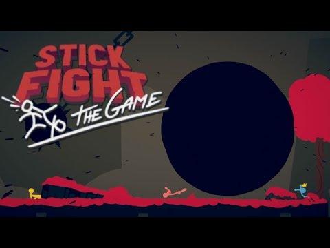 STICK FIGHT #8 - AGUJERO NEGRO Y LASER LARGO Y GORDO   GAMEPLAY ESPAÑOL