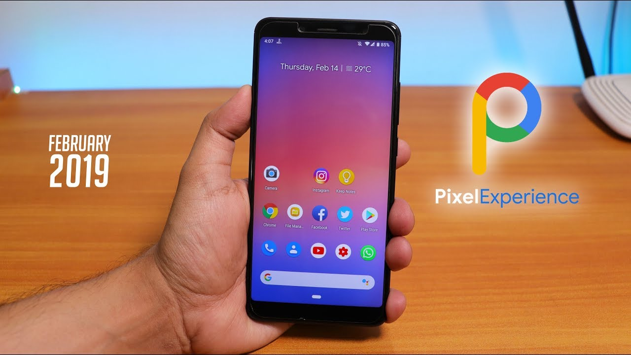 Pixel Experience 9 0 Pie On Redmi Note 5 Pro || February 2019 Build