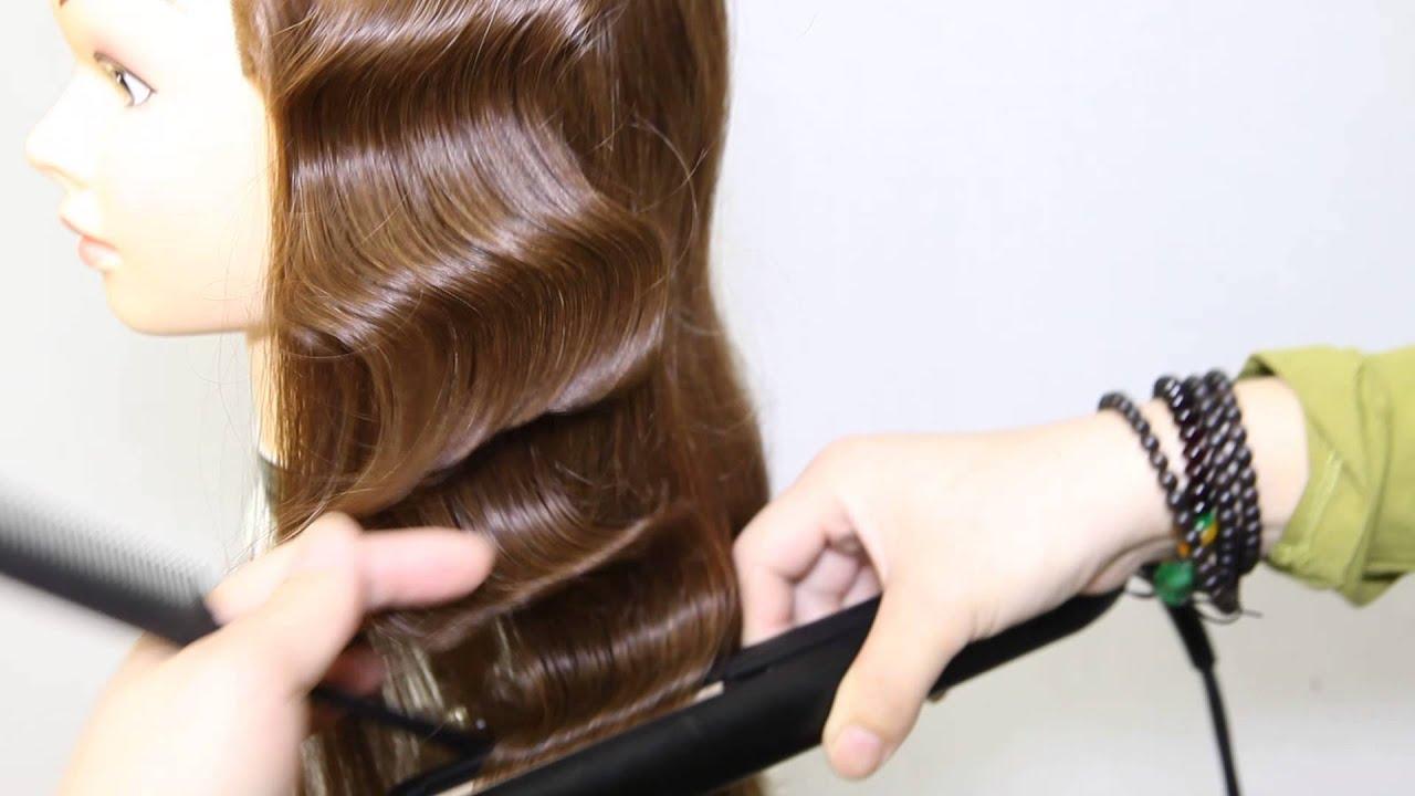 Finger Wave Hair Styles: Flatiron Hair Style2