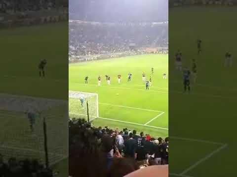 INTER - MILAN gol Icardi 3-2 Live dalla curva