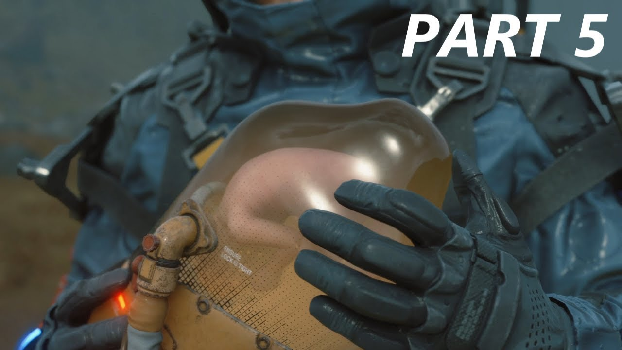 Death Stranding Walkthrough Gameplay Part 5 Autotoxemia No Commentary Full Game Youtube