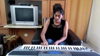 border movie song sandese aate hain on keyboard by s mythily