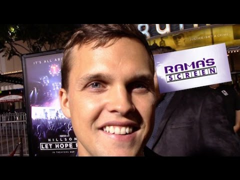 HILLSONG: LET HOPE RISE Red Carpet Interview With Matt Crocker And Dylan Thomas