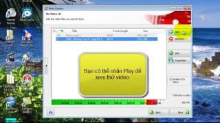 Hướng dẫn ghi đĩa VCD/DVD với phầm mềm Nero 7