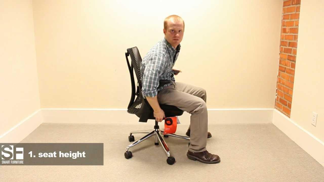 herman miller sayl chair adjustment guide - Sayl Chair