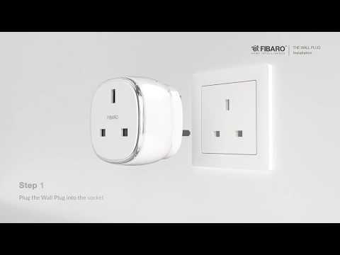 Wall Plug UK w/o USB - setup manual