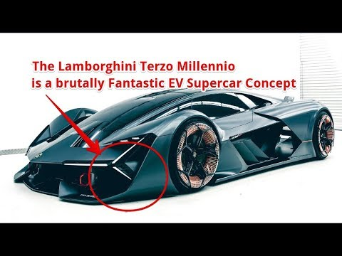 Wonderful The Lamborghini Terzo Millennio Is A Brutally Fantastic