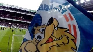 宿敵FCコペンハーゲンとブロンドビュの試合観戦に行ってきました! その1