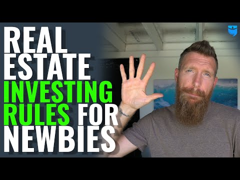 5 Basic Rules To Start Investing In Real Estate