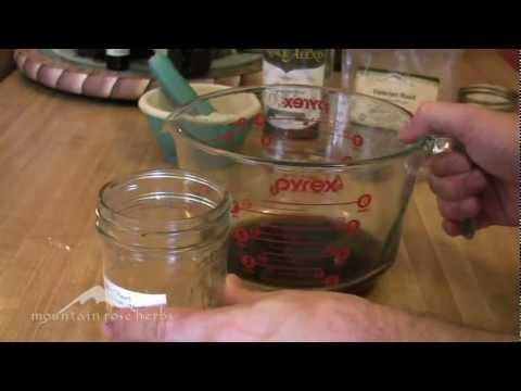 How to Make Your Own Herbal Medicine Tincture