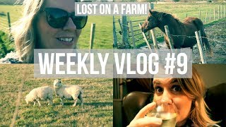 Weekly Vlog #9: Lost on a Farm! | Lifestyle | Paula Simmons