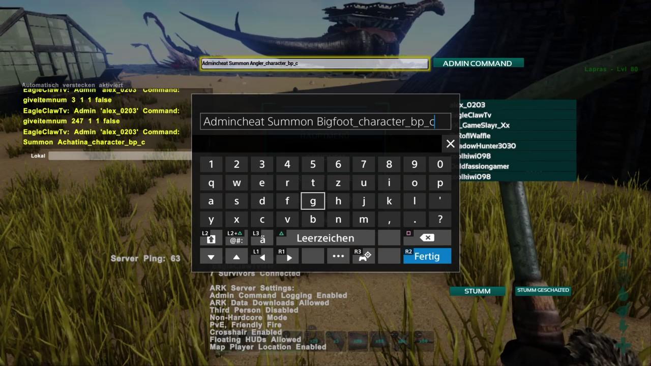 Ark Cheat Codes