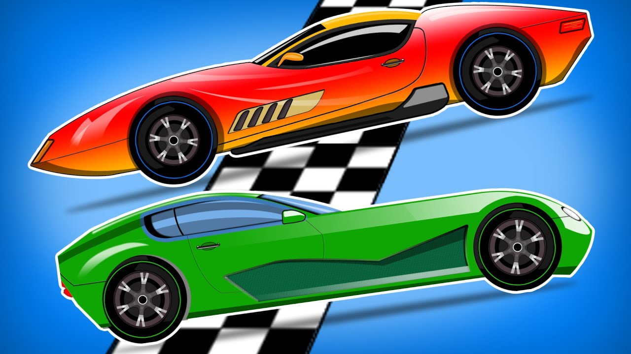 Car Race Cars For Kids Videos For Children S Youtube