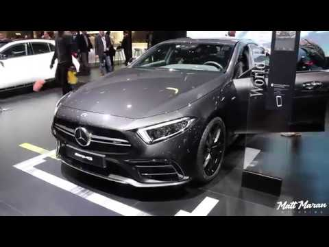 2019 Mercedes AMG CLS53 and E53 Coupe Close Up Look! 2018 NAIAS