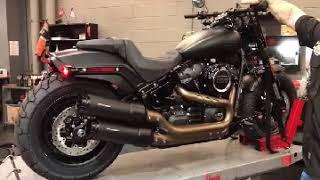 2018 Harley-Davidson Fat Bob with Rinhart Racing Slip-Ons
