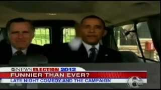 GMA Comedy Sketches for ELECTION 2012 President Obama and Mitt Romney