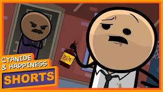 The Bouncer - Cyanide & Happiness Shorts