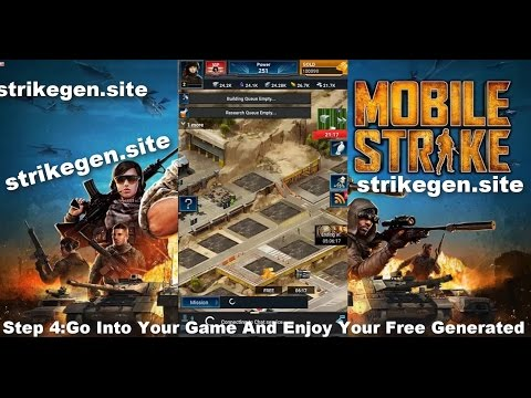 Mobile Strike Hack Gold - Mobile Strike Gold Hack 2017 ( Android & iOS ) Gold