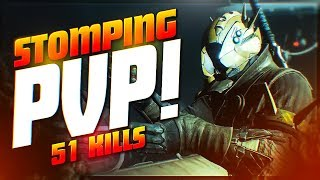 51 KILL STOMP! Absolutely DESTROYING Quickplay (Destiny 2 PvP Full Match)