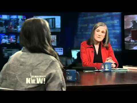 Roseanne Barr on Democracy Now! About Her Career As A Working-Class Domestic Goddess. 1 of 4