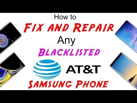 Repair blacklist IMEI Samsung Galaxy S9 S9 G960F G965F G960U