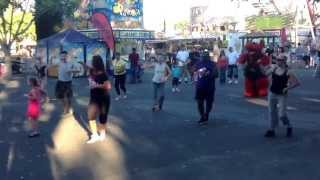 Alameda County Fair Flash Mob