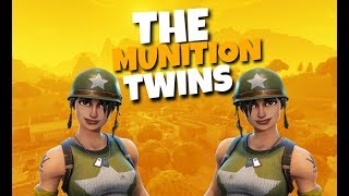 THE MUNITION EXPERT TWINS GET WINS//200+ WINS//LEVEL 74+//FORTNITE BATTLE ROYALE//1K GRIND//