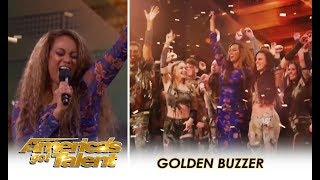 Zurcaroh: Acrobatic Group WOWS America Gets Tyra Banks GOLDEN BUZZER!  | America's Got Talent 2018