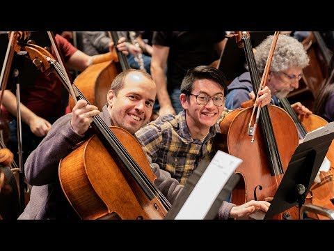 Nathan Chan Takes You on Tour with the Seattle Symphony!