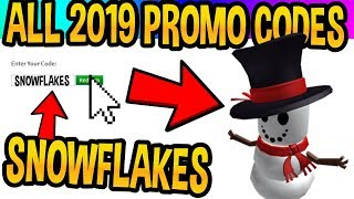*ALL* 2019 ROBLOX PROMO CODES FOR THE YEAR! (NEW ITEMS)