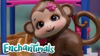 Enchantimals | Enchantimals Monkey Plus More | Enchantimals Toys | Stop Motion Compilation