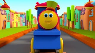 Nursery Rhymes & Songs for Kids | Cartoon Videos for Children - Bob The Train