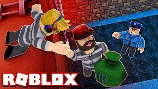 WE ARE SNEAKY ROBBERS dans ROBLOX ROBBERY SIMULATOR