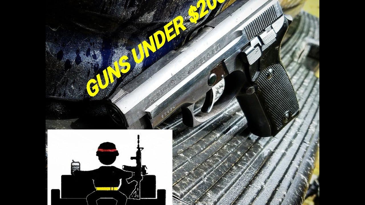 guns under 200 astra model a 100 youtube. Black Bedroom Furniture Sets. Home Design Ideas