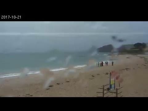 Gylly Beach Webcam Falmouth UK