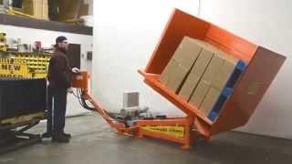 Paltec Pallet Tilter - Freezer Spacer Removal System
