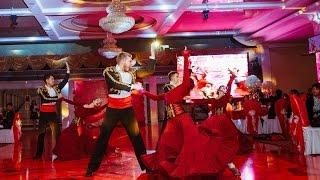 Свадьба в Бишкеке Испанский танец от шоу группы Vip Dance