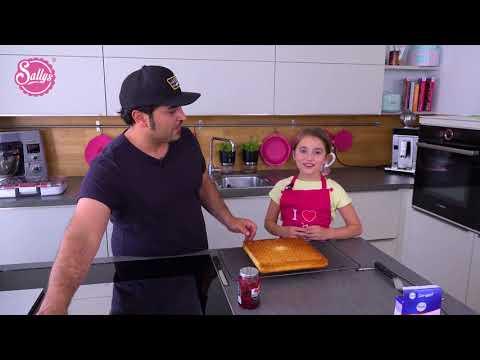Murats 5 Minuten Muttertagstorte / Endgegner Torte  Himbeer-Geschenktorte / Sallys Welt
