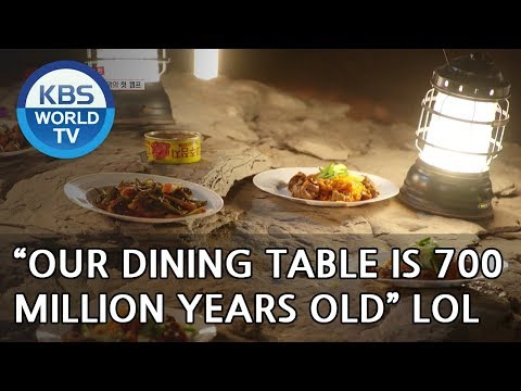 """Our dining table is 700 million years old"" LOL [Where On Earth??/ 2018.06.20]"