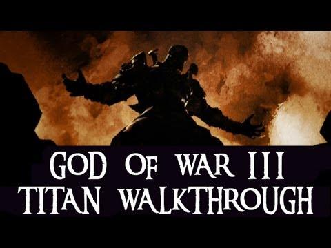 God of War III (Titan,PS3) #1 Gaia, Mount Olympus, Tomb of Ares