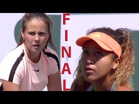 Osaka vs Kasatkina Full Highlights / BNP Paribas Open 2018 / Final