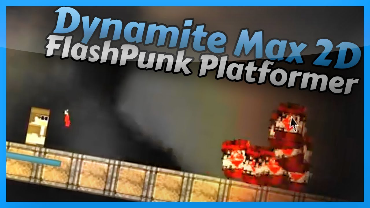 FlashPunk 2D Platformer with Lighting - Dynamite Max