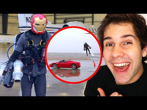 REAL LIFE IRON MAN SUIT!! (JET PACK)