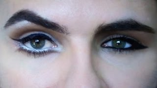 Ako zmenšiť alebo zväčšiť oči / How To Make Bigger Or Smaller Eyes