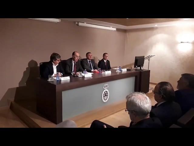 Almuíña acompaña a la nueva junta del Colegio Médico de Lugo en su presentación